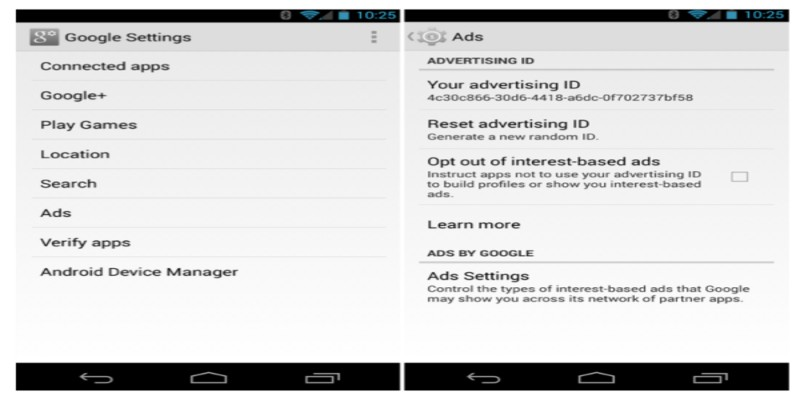 HOW TO CHANGE GOOGLE ADVERTISING ID 2021