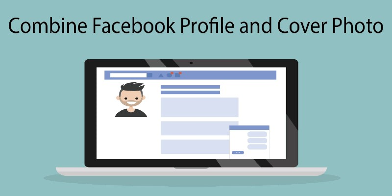 HOW TO COMBINE FACEBOOK PROFILE WITH COVER PICTURE 2021