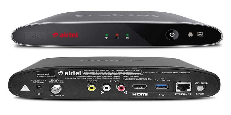 Airtel Internet TV Set Up Box : Know Full Details Here 2021
