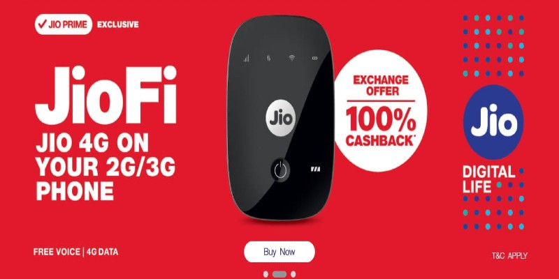 Get JioFi Device At Rs.999 With Exchange Of Your Old Router/Dongle 2021
