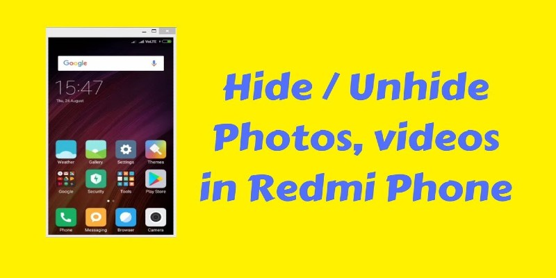 How to Unhide Files in MIUI 8 : Hide Photos & Videos on Redmi Devices 2021
