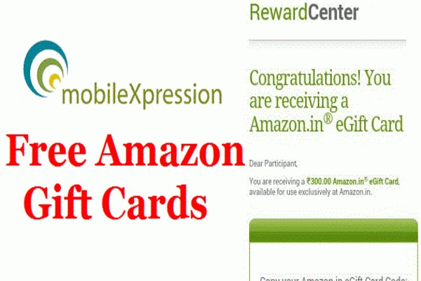 Mobilexpression : How to Sign Up & Earn Rs 300 Amazon Voucher Every Month as Reward 2021