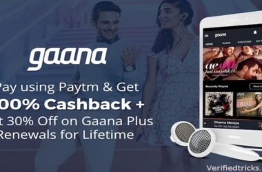 Paytm Gaana Offer: Get Flat 100% Cashback On Gaana Subscription 2021