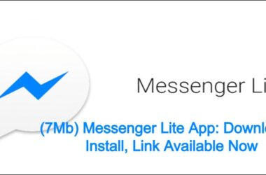 (7Mb)Messenger Lite App : Download & Install, Link Available Now 2021