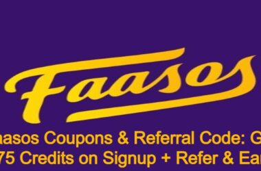 Faasos Coupons & Referral Code: Get 175 Credits on Signup + Refer & Earn 2021