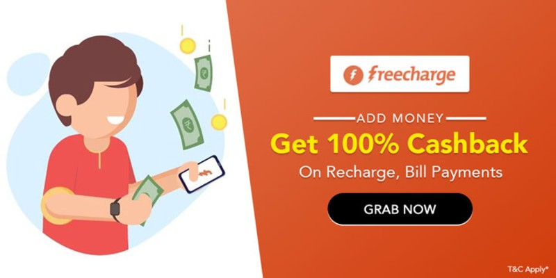 Freecharge Promo Code, Offers February 2021: Get 100% Cashback on Recharge 2021