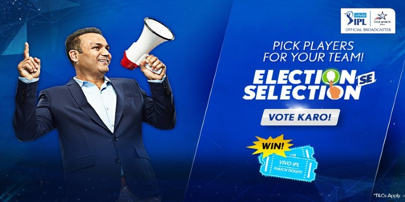 Vivo IPL Election se Selection: Vote & Win Free Match Tickets 2021
