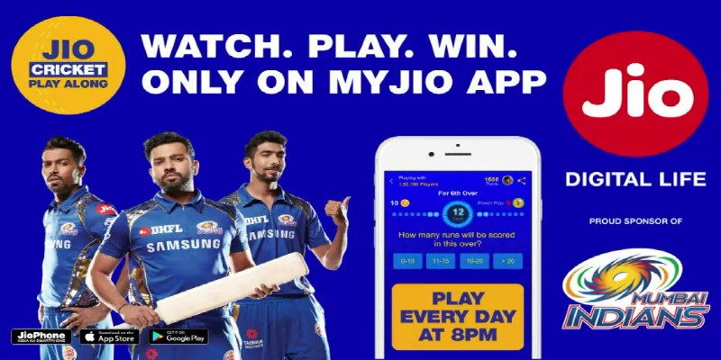 Jio cricket play along 2021