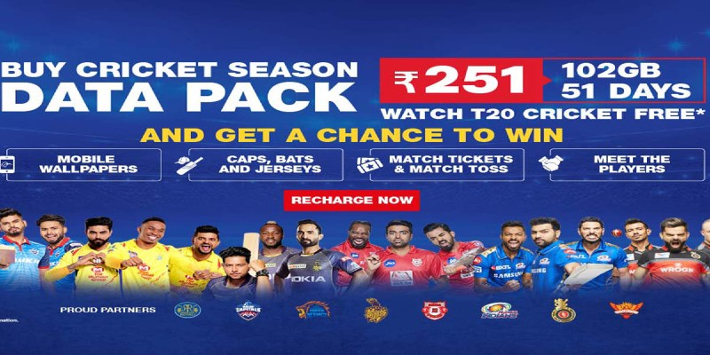 JIo cricket pack 2021